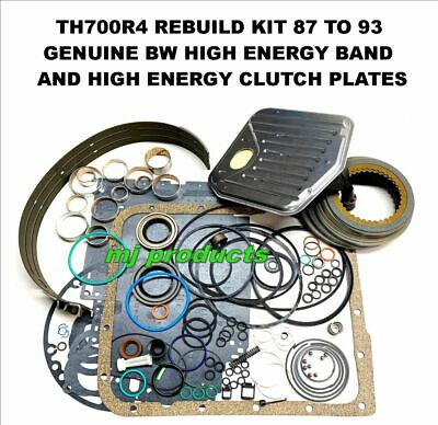 AU280 • Buy TH700R4 T700 87-93 Rebuild Kit, Commodore Gaskets,clutches,band,bushes,all Seals