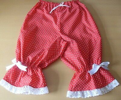 £14 • Buy Red Spotty Bloomers