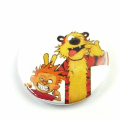 £1.89 • Buy Calvin And Hobbes - Button Badge - 25mm 1 Inch
