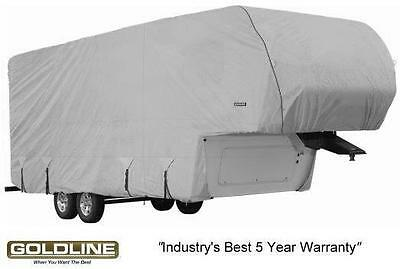 $ CDN963.90 • Buy Goldline Premium RV Trailer 5th Wheel / Toy Hauler Cover Fits 36 To 38 Foot Grey