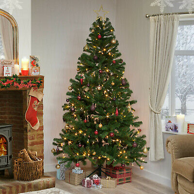 Christmas Tree Xmas Colorado Spruce 4ft 5ft 6ft 7ft 8ft Or 10ft Free Delivery • 34.95£