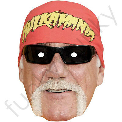£2.49 • Buy Hulk Hogan WWE American Celebrity Actor Card Mask - All Our Masks Are Pre-Cut
