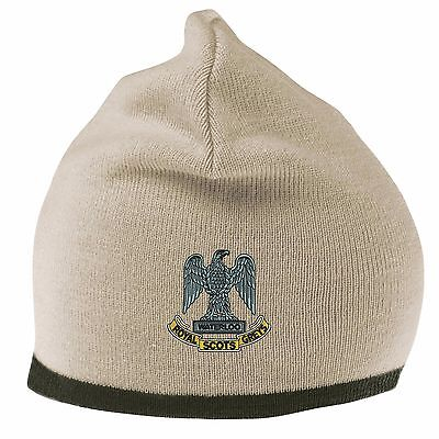 Royal Scots Dragoon Guards Beanie Hat With Embroidered Logo • 11.95£