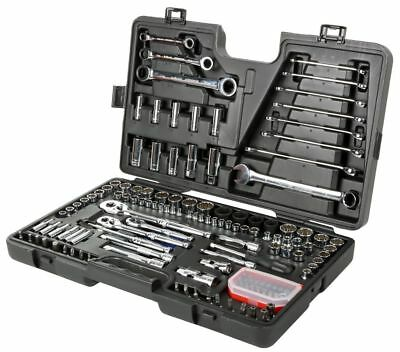 View Details Halfords Advanced 150 Piece Socket & Ratchet Spanner Set Tool Box Hand Tools • 130.00£