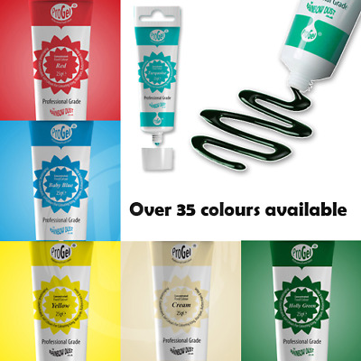 £4.99 • Buy Food Colouring Pro-Gel Rainbow Dust Edible Icing / Paste 25g