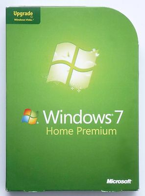 Microsoft Windows 7 Home Premium - Upgrade/Update Von XP Oder Vista- 32+64 Bit - • 32.77£