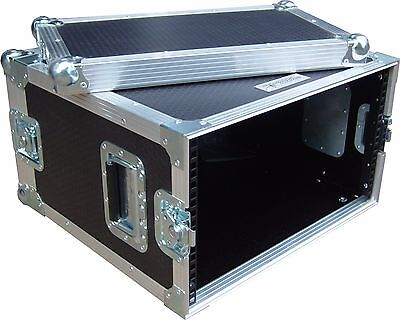 8U 2 Door 19  Rack  Short Version 300mm  Swan Flight Case (Hex) • 193.45£