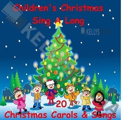 Children's Christmas Sing-along Cd - 20 Christmas Carols For Kids Of All Ages  • 2.89£