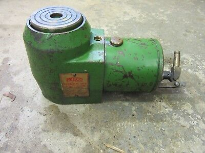 $250 • Buy Felco Hydraulic Jack 20 Ton Precision 3.375  Lift Low Clearance Machinery Move 4