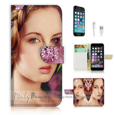 AU12.99 • Buy ( For IPhone 6 Plus / IPhone 6S Plus ) Case Cover P0557 Flower Girl