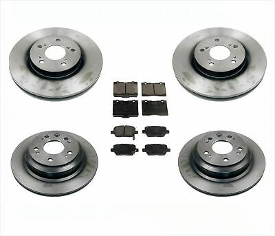 $164.32 • Buy For 05-12 Acura RL 3.5L 3.7L Frt & Rr New Disc Brake Rotors & Ceramic Pads 6pc