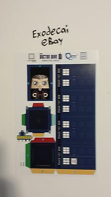 £7.10 • Buy Paper Figs Tardis Doctor Who Police Box Craft Art Diy T.a.r.d.i.s. Lootcrate