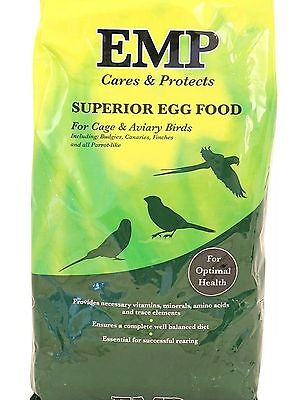 £5.99 • Buy EMP Superior Condition Soft Egg Food For Budgies Canaries - 1kg