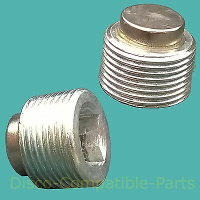 Land Rover Discovery 2 Magnetic Differential Drain Plugs X 2 FTC5208 By Bearmach • 5.99£