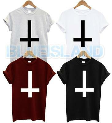 £5.99 • Buy Inverted Cross T Shirt Wasted Youth Tshirt Fashion New Hipster Swag Dope Unisex