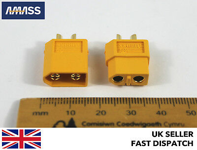 *GENUINE AMASS* XT60 Male Female Connectors/Plugs/Socket RC LiPo Battery 12v 24v • 4.75£