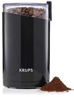 £29.25 • Buy KRUPS F203 Electric Spice And Coffee Grinder With Stainless Steel Blades, Black