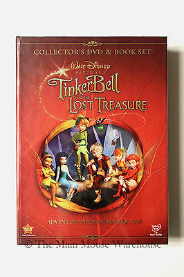 £24.81 • Buy Tinker Bell TinkerBell And The Lost Treasure Collector's DVD & Book Gift Set