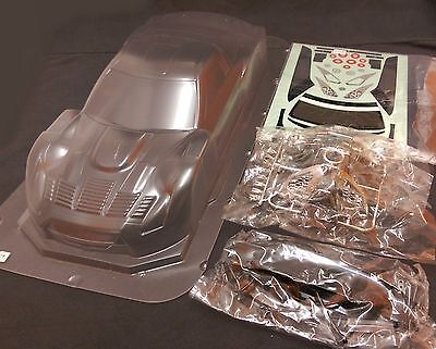 RC 1/10 Car 190mm Unpainted Clear Body Shell Bodies NISSAN GT-R R35 Fits Tamiya • 27.99£