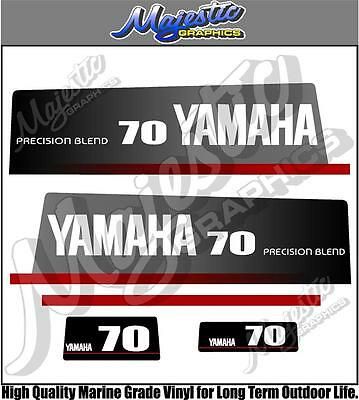 AU68 • Buy YAMAHA - 70hp - PRECISION BLEND - OUTBOARD DECALS