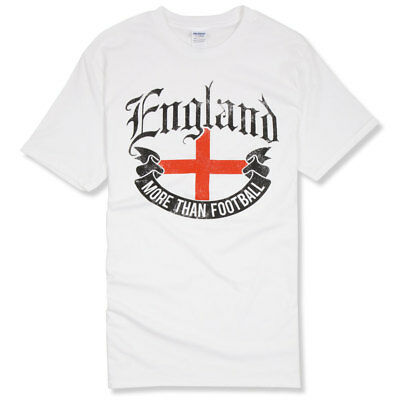 ENGLAND T-SHIRT  MORE THAN FOOTBALL  - St George's Day, England Clothing • 14£