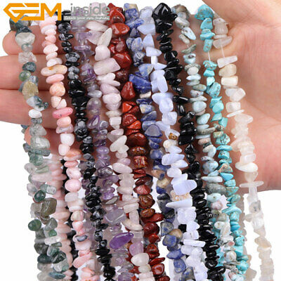 $ CDN6.76 • Buy Freeform Natural Gemstone Chips Beads For Jewelry Making 34 /15  Bulk In Lots