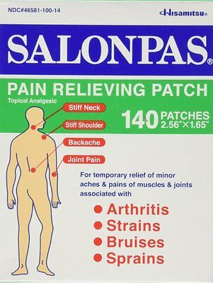AU18.95 • Buy Salonpas Patch Hisamitsu Pain Relieving  - Made In Japan 2 Packs 40 Patches