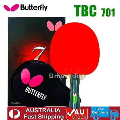 AU112.75 • Buy Butterfly 7 Star 701 Table Tennis Ping Pong Racket Paddle Bat Long/ Shakehand FL