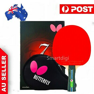 AU102.75 • Buy Butterfly TBC701 Long Handle/Shakehand Table Tennis Ping Pong Racket Paddle Bat