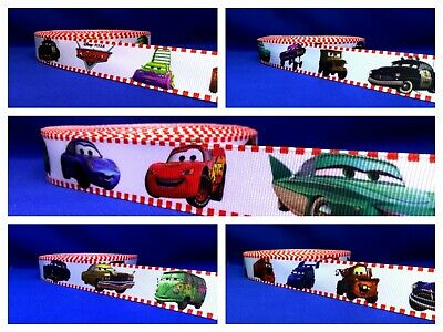 Cars Lightning McQueen Mater Etc Grosgrain Cake/Hair/craft Ribbon @ MrsMario's • 1.49£