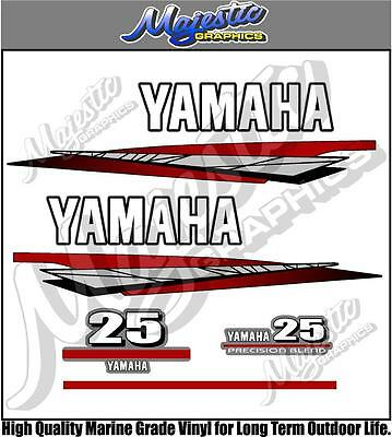 AU59 • Buy YAMAHA 25hp - 2 Stroke - OUTBOARD DECALS