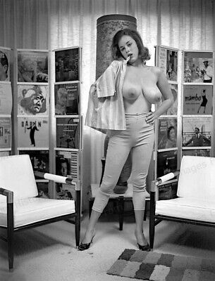 AU20.81 • Buy 8x10 Print Sexy Model Pin Up Nudes Busty Bombshell 1968 #08723