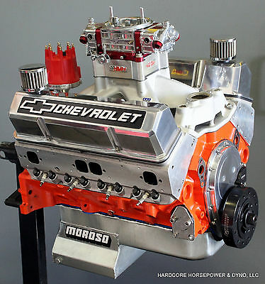 434ci Small Block Chevy Pro-Street Engine 663hp+ Built-To-Order Dyno Tuned • 13,299.95$