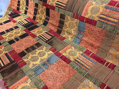 PORTER And STONE ~PRAGUE TERRACOTTA~ Tapestry Style Upholstery/Curtain Fabric  • 24.95£
