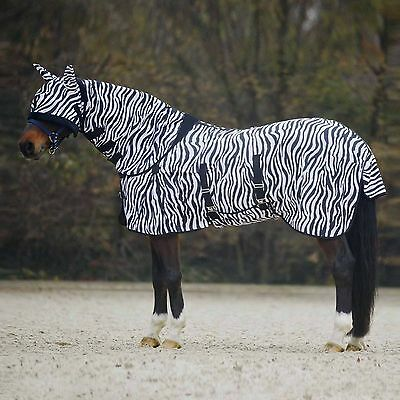 Strong Lightweight Horse Combo Turnout Fly Rug With Neck/belly/tail Cover & Mask • 29.99£