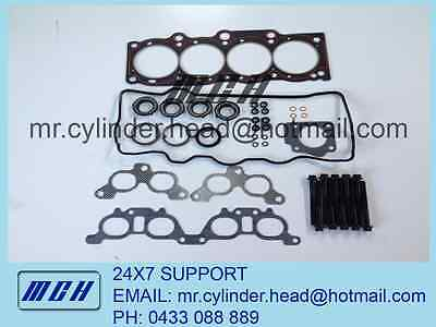 AU229.95 • Buy Toyota Camry VRS MLS Head Gasket Set + Head Bolt Kit 5SFE SXV20 ST204 Celica