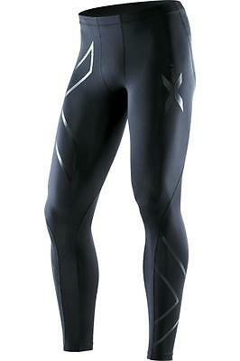 2XU Mens Recovery Compression Tights - Black/Nero Logo * NEW IN BOX * • 104.20£