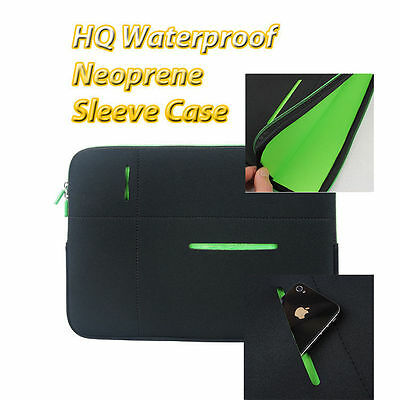 AU16.50 • Buy HQ Laptop Waterproof Protection Sleeve Case Soft Bag For MacBook 11, 12, 13 Inch