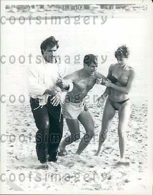 $ CDN28.21 • Buy 1984 Dick Benedict Jeana Tomasino Richard Brose Actors The A Team Press Photo