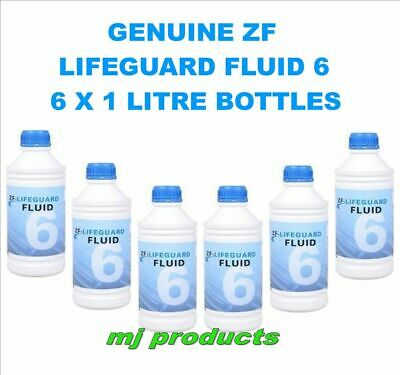 AU235 • Buy ZF Lifeguard Fluid 6 Ford / BMW/  Land Rover & Jaguar 6HP26 Transmission X 6 ...