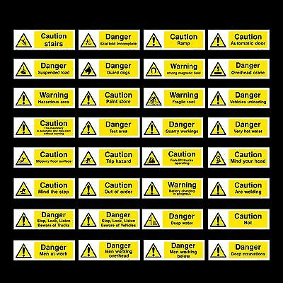 £1.49 • Buy Electric Risk / Volts / Cable / Fence / Live - Plastic Sign, Sticker - All Sizes