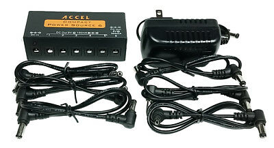 $ CDN73.94 • Buy Pedal Board Power Supply Accel Compact Power Source 6
