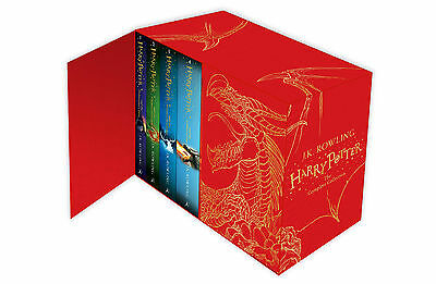 $ CDN141.58 • Buy Harry Potter Complete Collection Books Box Set J.K. Rowling Deluxe Hardback Red
