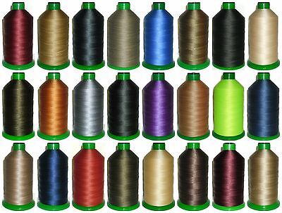 £15.99 • Buy Strong Bonded Nylon Thread 20's, 1500mtrs, Somabond Threads, Assorted Colours