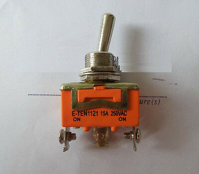 3-Pin Toggle DPDT ON-OFF-ON Switch 15A 250V • 1.47£