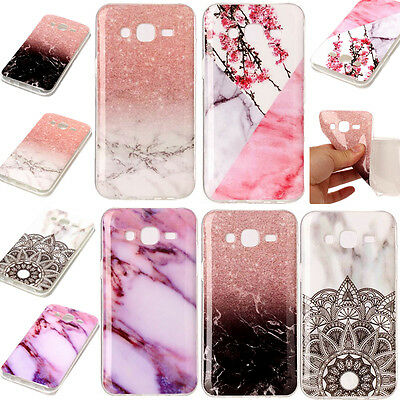 $ CDN3.94 • Buy Marble Granite Soft Rubber TPU Case Cover For Samsung Galaxy S7 S8 Plus J3 J5 A3