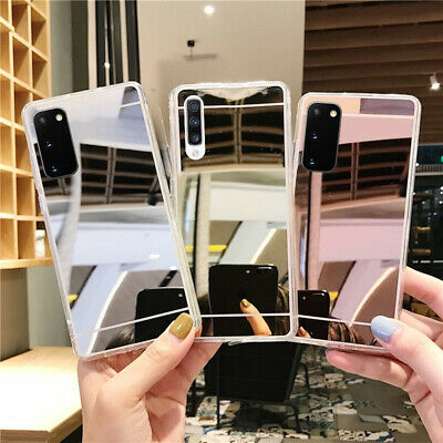 $ CDN3.45 • Buy Slim Mirror Soft TPU Silicone Phone Cover Case For Samsung Note 9 8 S9 S10 Plus