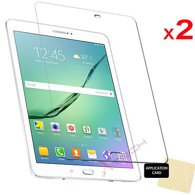 £2.95 • Buy 2x Screen Protector Covers For Samsung Galaxy Tab S2 9.7 Inch SM-T810 T813 T815