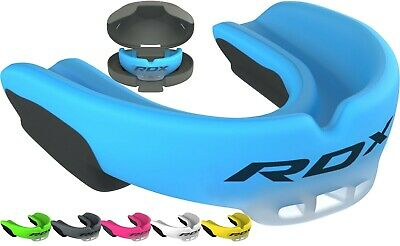 £17.99 • Buy RDX Gel Gum Shield & Case Teeth Grinding Mouth Guard Boxing MMA Rugby Mouthpiece
