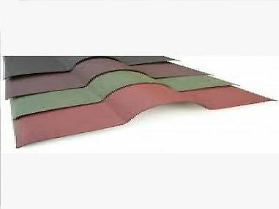 £9.12 • Buy  Red Coroline Ridge Capping For Bitumen Roofing Sheets